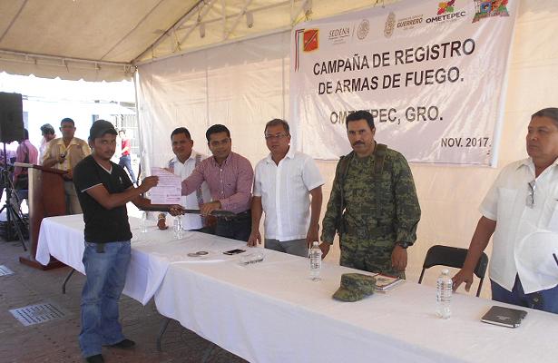 Inicia Ejército campaña de recolección de armas