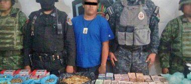 Detienen a sujeto en Acapulco con más de 1 millón de pesos en efectivo