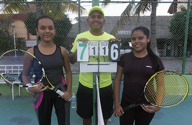 Esparza y Aguirre en semifinales de Tenis