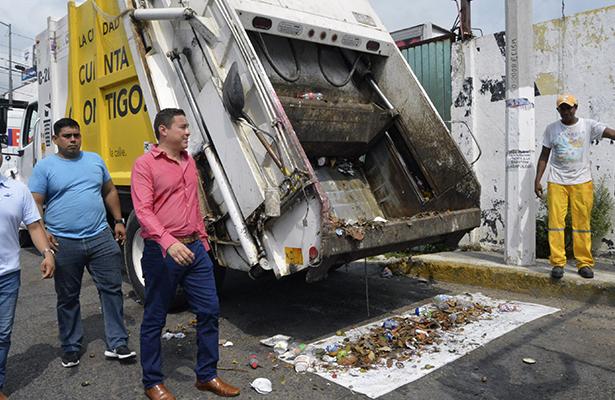"""""""Son tolerados por el municipio"""" reconoce Saneamiento"""