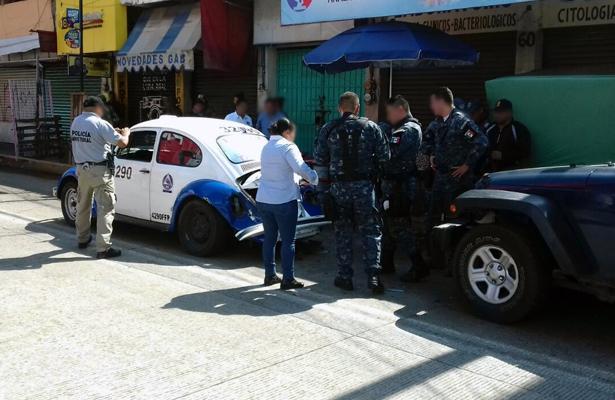 Enfrentamiento entre Policía Federal y civiles armados en zona centro de Acapulco