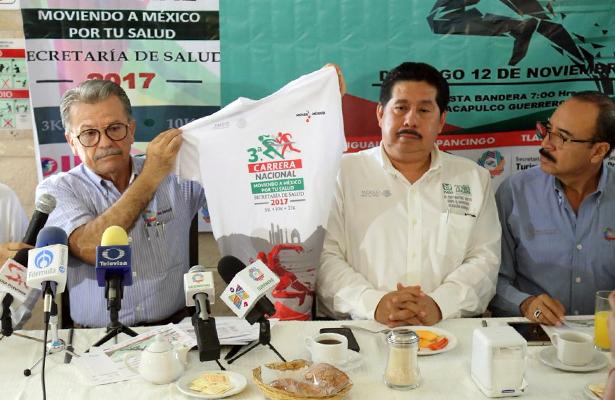 Acapulco será sede simultánea de la III Carrera Nacional Moviendo a México por tu Salud
