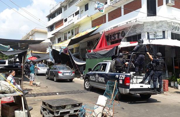 """Acapulco convertido en un """"foco rojo"""""""