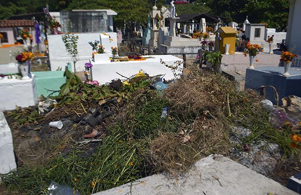 Día de Muertos generó cerca de 500 toneladas de basura