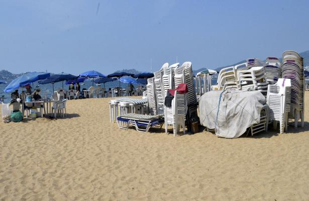 Con mobiliario parchado y en malas condiciones, se recibirán a turistas en vacaciones de Navidad  y Año Nuevo