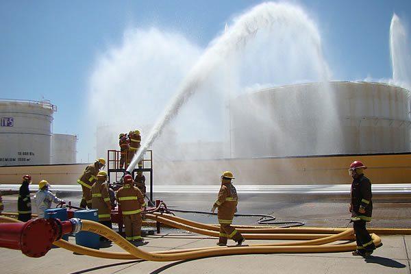 Realizan hoy simulacro de incendio en instalaciones de PEMEX