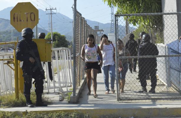 Grupo de internos se inconformó por el traslado de presos a otros penales
