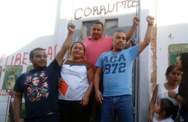 Liberan al promotor de la CRAC, Arturo Campos Herrera