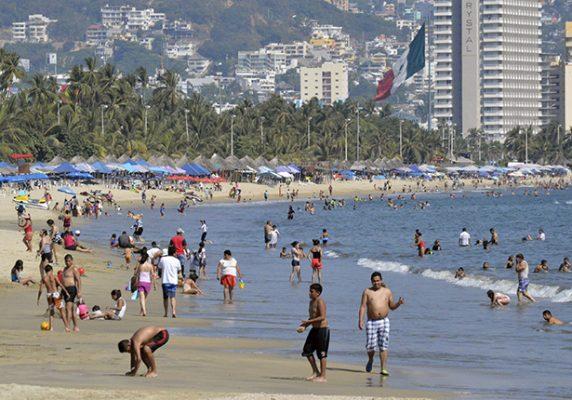 Acapulco inicia fin de semana con31% de ocupación hotelera