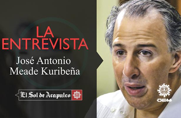 Entrevista exclusiva con José Antonio Meade Kuribreña