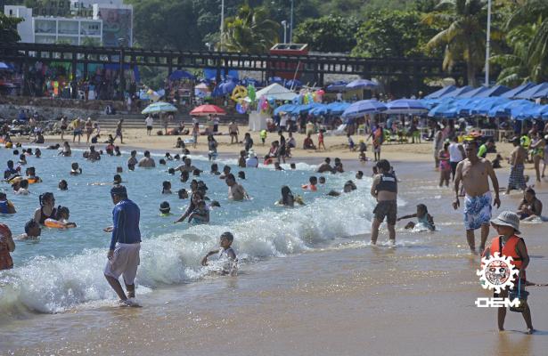 Acapulco registra 44% de ocupación hotelera
