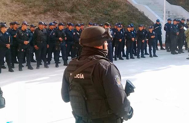 Sólo uno de los 120 policías de Chilpancingo investigados, estpa a disposición de las autoridades