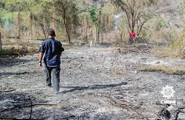 Registra PC más de 125 incendios de diciembre a enero de 2018