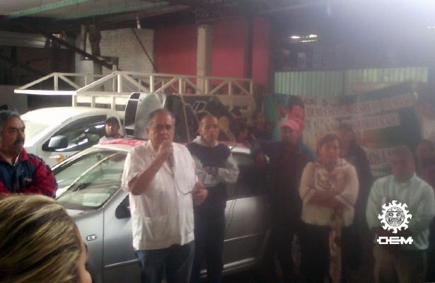Con marcha piden regresar a Atlamajac al ex alcalde detenido Willy Reyes
