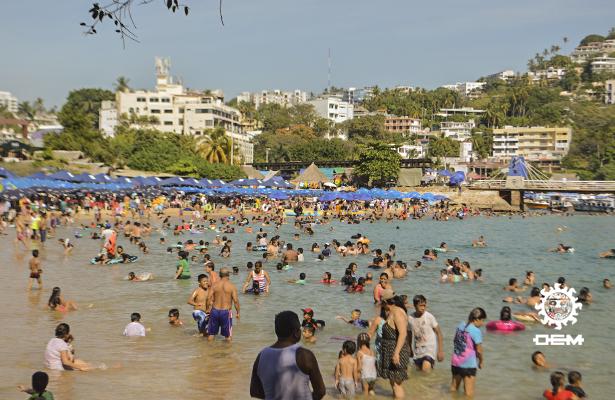 Alcanza Acapulco 73.1 de ocupación hotelera