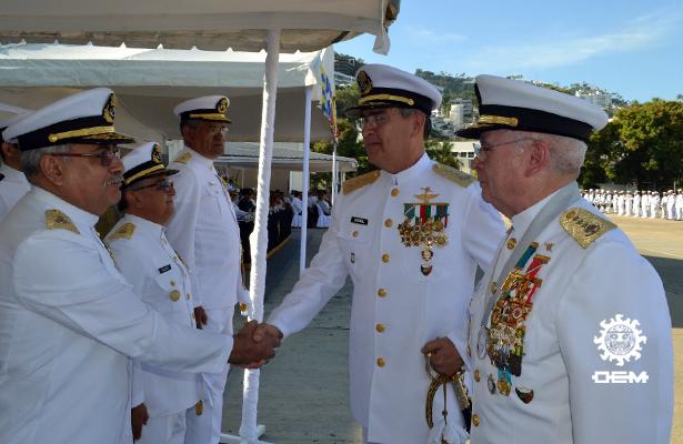Toma protesta nuevo comandante de la Octava Región NAval
