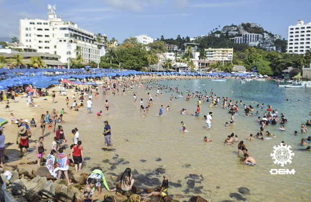 Registra Acapulco 85.5% de ocupación