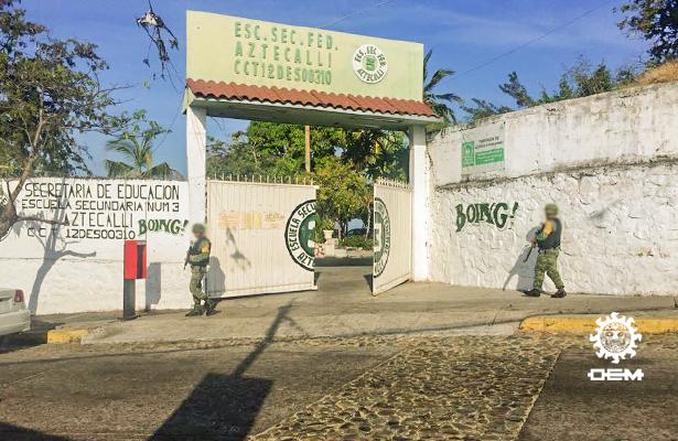 Se reanudan clases en cuatro escuelas primarias de la Jardín