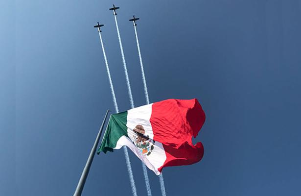 Conmemoran el 197 Aniversario del Día de la Bandera