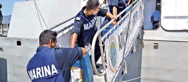 Captura la Marina a 3 ecuatorianos y decomisa 1,200 litros de combustible