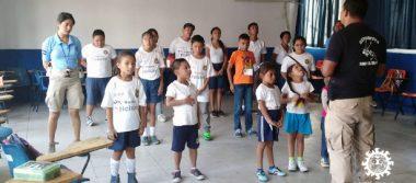 Fomenta SSP valores en niños y niñas