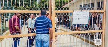 Toman los Servicios Educativos en Tecpan