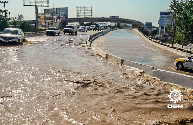 Miles se quedan sin agua por 72 horas