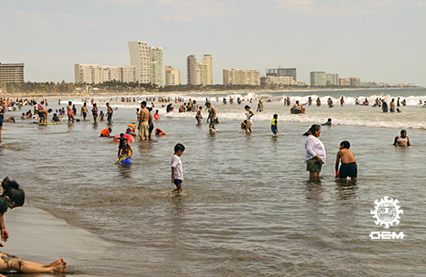 Acapulco cierra fin de semana con ocupación del 87.7%