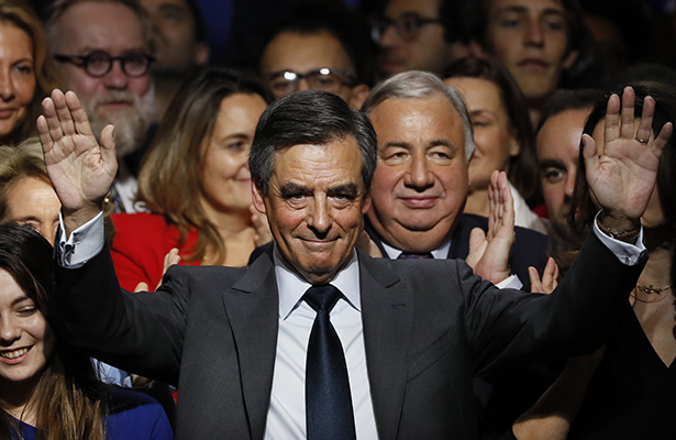 Fillon se perfila como ganador de las primarias de la derecha francesa