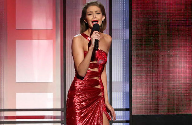 Gigi Hadid causa polémica por su imitación de Melania Trump
