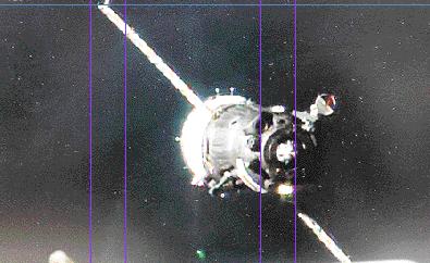 Llega Soyuz con tres  astronautas a la ISS