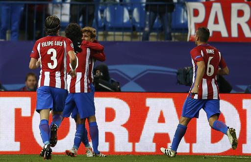 Atlético de Madrid gana al PSV; Bayern cae en Rusia ante el Rostov