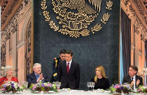 Enrique Peña Nieto encabeza 21° Reunión Anual del Centro Paley