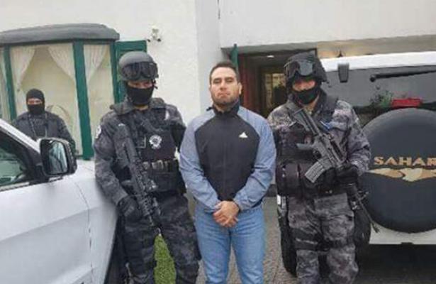 """Detienen a """"El Cacho"""" presunto jefe de sicarios del grupo """"La Barredora"""""""