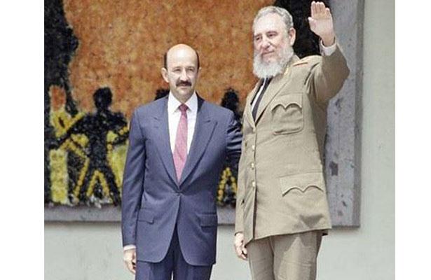 """Salinas de Gortari, en funeral de Castro; """"solo el pueblo cubano dará su veredicto"""""""
