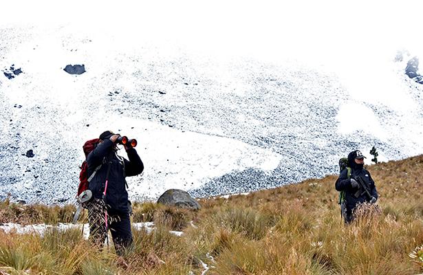 Muere hombre en el Nevado de Toluca