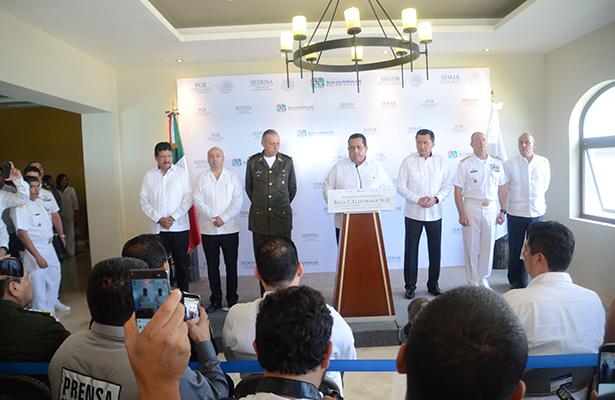 Rinde frutos estrategia de seguridad en La Paz