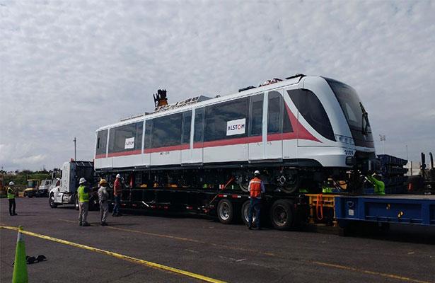 Desde España, llega primer tren para L3 de Guadalajara