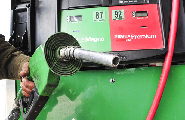 Precios de gasolina Magna, Diesel y Premium se mantienen sin cambios para diciembre