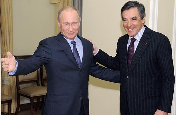 Putin reconoce al aspirante presidencial francés François Fillon