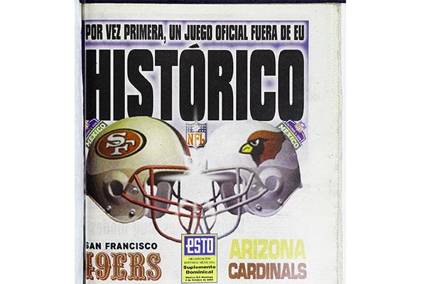 Así vivió México el primer juego de NFL fuera de EU