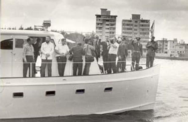 Fidel Castro murió a 60 años de partida del Granma desde Veracruz