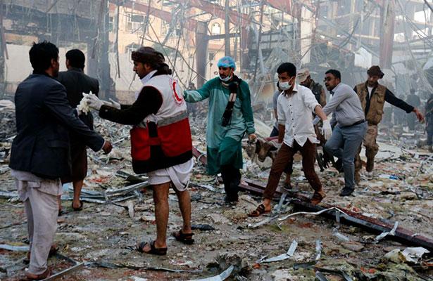 Ocho mujeres y un niño muertos en bombardeo cerca de capital de Yemen