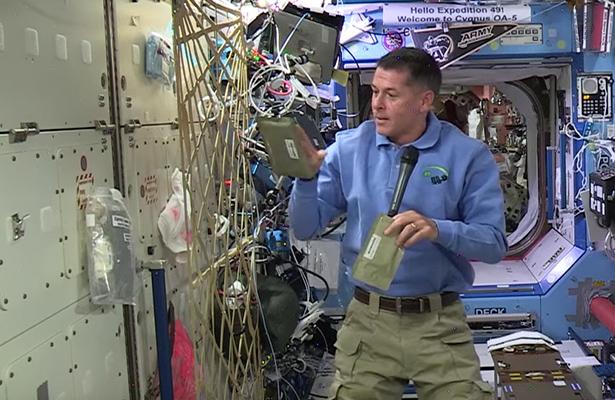 Descubre la cena que preparan los astronautas para Acción de Gracias