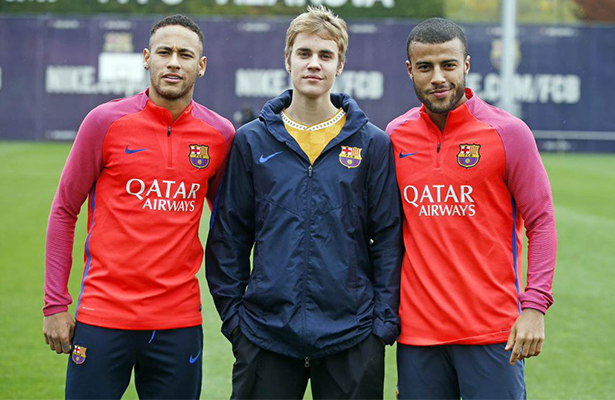 ¡Justin Bieber se une a las filas del FC Barcelona!