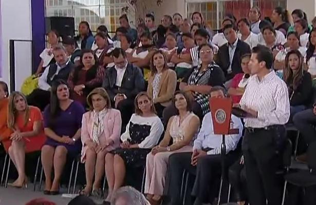 Erradicar violencia contra mujeres, objetivo del gobierno: Peña Nieto
