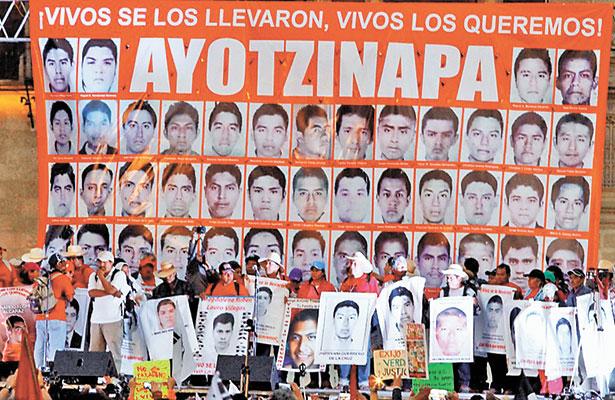 Demanda CDHEG esclarecer el caso de los 43 normalistas desaparecidos en Iguala