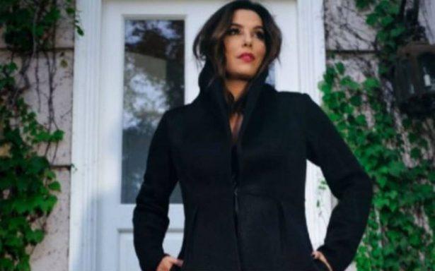 No solo en los Globos de Oro, Eva Longoria llama a vestir de negro y luchar contra el acoso