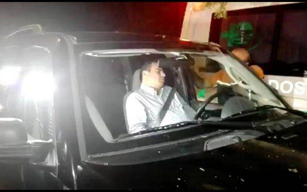 'Me ganó el cansancio', dice secretario del PAN Jalisco que chocó