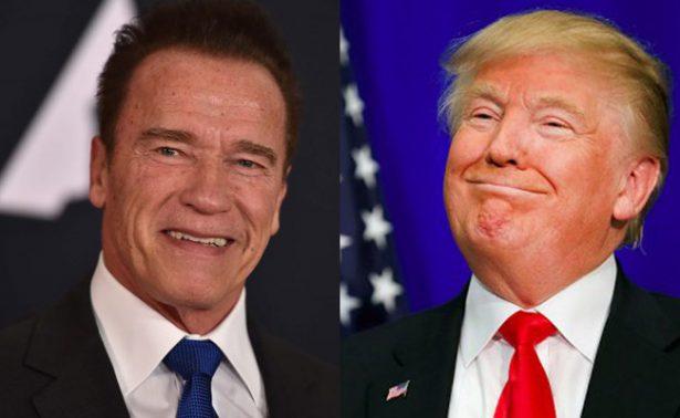 Arnold Schwarzenegger devuelve la burla a Donald Trump